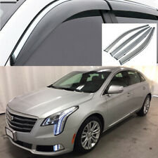 4x For Cadillac XTS 2013-2019 Window Visor Deflectors Sun Guard Rain Vent Shield