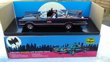 "Batmobile 1966 TV Series 10"" Long with  3 inch Batman & Robin Figures Boxed NEW"