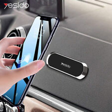 Mini Strip Shape Magnetic Car Phone Holder Stand Fit Samsung iPhone Magnet Mount