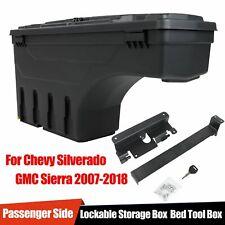 For Chevy Silverado GMC Sierra 2007-2018 Truck Bed Storage Box Toolbox Right