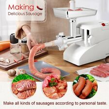 """Heavy Duty Electric Meat Grinder Commercial with 3 Blade 13"""" x 6.6"""" x 10"""" 2000W"""