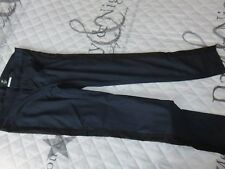 pantalon bleu avec trait noir taille 42 H&M