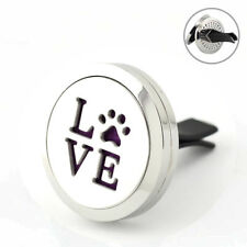 Love' Paws, Car Vent Air Freshener Fragrance Refillable 10ml oil, 7 pads, gift.