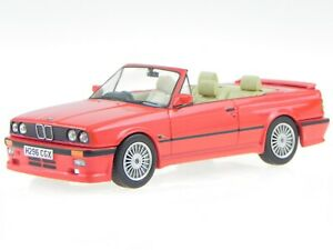 BMW e30 convertible Alpina C2.5 red RHD diecast modelcar Vanguards1/43