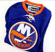 New York Islanders Reebok Premier NHL Hockey Blue Orange Jersey Size Mens XXL
