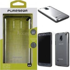 Samsung Galaxy Note 4 PureGear Slim Case Cover Clear W/ Black Trim