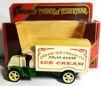 MATCHBOX MODELS OF YESTERYEAR 1920 MODEL AC MACK ARCTIC ICE CREAM - Y30