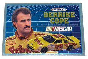 1993 Maxx Race Cards Limited Edition Jumbo 3x5 Derrike Cope #8 NASCAR Racing