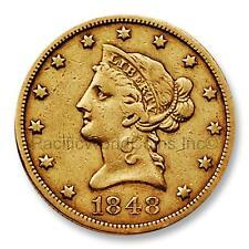 Usa 1848 Liberty Head $10 Gold Coin Sku# 7716