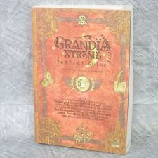 GRANDIA XTREME Perfect Guide PS2 Book EB24*