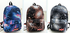 New Women & Men Galaxy Space Backpack Travel Rucksack Canvas Bag School Bookbag