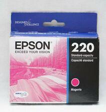 Epson T220320 DURABrite Ultra Magenta Standard Capacity Cartridge Ink