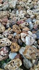 "20lbs 3""-6"" River Creek Stone, aquascape, pond, natural crystal rocks terrarium"