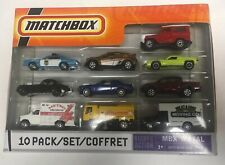 IMPERFECT PACKAGE 2009 Matchbox 10 Pack Red W/ 68 Toyota Land Cruiser Fj40