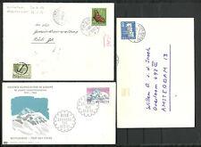 3 x Briefumschlag aus der Schweiz. Erh. ( siehe Abb. )
