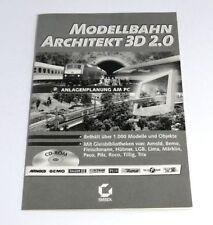 Sybex CD-ROM Modellbahn Architecte 3D 2.0