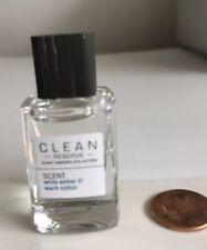CLEAN Reserve White Amber & Warm Cotton Eau de Parfum EDP Mini 5ml Dabber