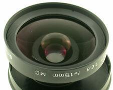 SINAR Sinaron W 6,8/115 115 115mm MC 104° Front Linsen Block lens element top