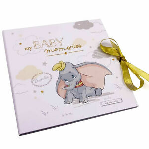Disney Dumbo My 1st First Year New Baby Memory Record Book Gift