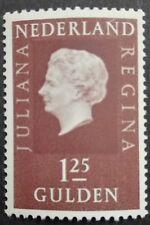 HOLANDIA-NETHERLANDS-NEDERLAND STAMP MNH - Queen Juliana, 1969,**, 1,25 Gld