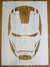 Iron Man Stencil Mask Reusable Mylar Sheet for Arts & Crafts, DIY
