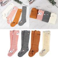 Cotton  Infant  Cat  Baby Leg Warmer  Anti-Slip Knee High Socks Kids Stockings