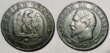 5 Centimes Napoléon III 1855 MA Marseille, ancre, Assez rare !!