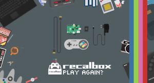 Carte micro SD Recalbox Raspberry Pi 4 PLUG & PLAY