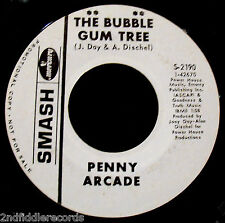 PENNY ARCADE-The Bubblegum Tree-A Rarer Pop Psych Rock Promo 45-SMASH #S-2190