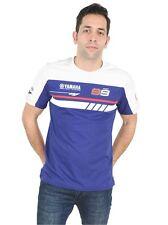 2016 Official Jorge Lorenzo Blau Doppel Yamaha T-Shirt - 16 37001