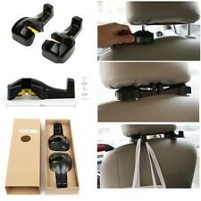 4pcs Vehicle Universal Car Back Seat Headrest Hanger Holder Hook for Bags Purses