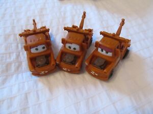 Disney Pixar CarS McDonaldS MATER 3 DIFFERENT eyes version