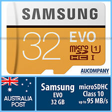Samsung 32 GB 32G micro SD SDHC EVO Class 10 UHS-I Memory Card TF Galaxy S5 S7