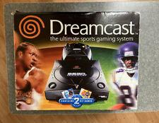 Sega Dreamcast Sports Bundle Console (NTSC) - Replacement BOX ONLY Collectors