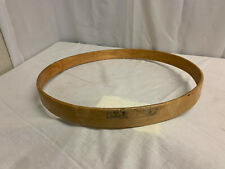 Vintage Ludwig Clear Maple Lacquer Drumset Hoop 20""