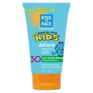 Kiss My Face Kids Defense Mineral Lotion Sunscreen SPF 30, 118 ml *EXP 07/2021*