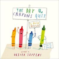 Brand new paperback book - The Day The Crayons Quit by Drew Daywalt Ages 3-6 yrs