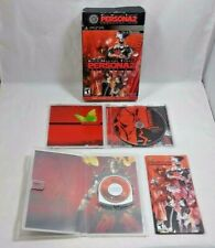 Shin Megami Tensei PERSONA 2 INNOCENT SIN (PSP) COMPLETE LTD ED w/ Soundtrack CD