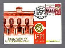 MAXIMUM : 80°Ann.dell' I S P I  -  Annullo da Milano  27.03.2014