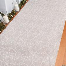 55x24inch 3D Rose Flower Wedding Stage Floor Long Carpet Aisle Runner Mats Rugs