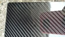 "Carbon Fiber Fiberglass Panel Sheet 24""×54""×1/32"" Glossy One Side"