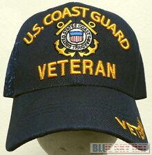 NEW LICENSED U.S. COAST GUARD USCG VETERAN VET SEMPER PARATUS 1790 CAP HAT  BLUE 2c56be86f5ec
