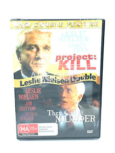 Project Kill / They Call it Murder Leslie Nielsen - Rare DVD Aus Stock New