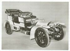 mercedes-simplex VOITURES DE TOURISME 1901/02 Photo ak CARTE POSTALE PHOTOGRAPHE