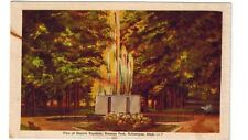 1950's postcard - View of Electric Fountain, Branson Park, Kalamazoo, Mich.
