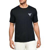 Under Armour Men's Project Rock Snake Short Sleeve Shirt Dwayne Johns1351581-001