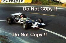 Jo Siffert Rob Walker Racing Lotus 49B French Grand Prix 1969 Photograph