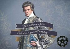 Outlander Season 2 Gold Jacobite Quotes Chase Card Q6 You will pay a price. Mar