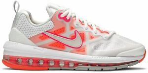 Nike Air Max Genome Trainers Sneakers Shoes White/Bright Mango/Hyper Pink/Platin