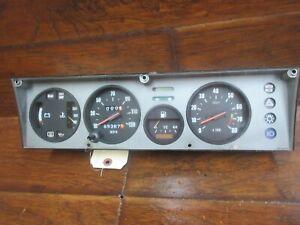 Fiat X 1/9: 1974, 1975, 1976, 1977 - 1983, Speedometer - Instrument Cluster